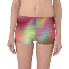 Colorful Colors Wave Gradient Boyleg Bikini Bottoms