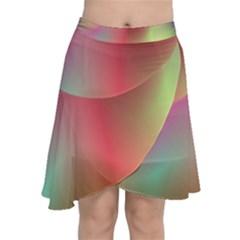 Colorful Colors Wave Gradient Chiffon Wrap