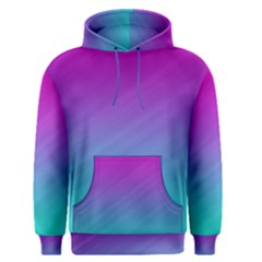 Background Pink Blue Gradient Men s Pullover Hoodie