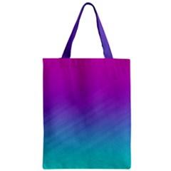 Background Pink Blue Gradient Zipper Classic Tote Bag
