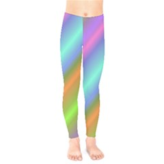Background Course Abstract Pattern Kids  Legging