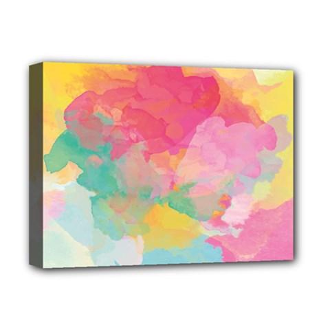 Watercolour Gradient Deluxe Canvas 16  X 12