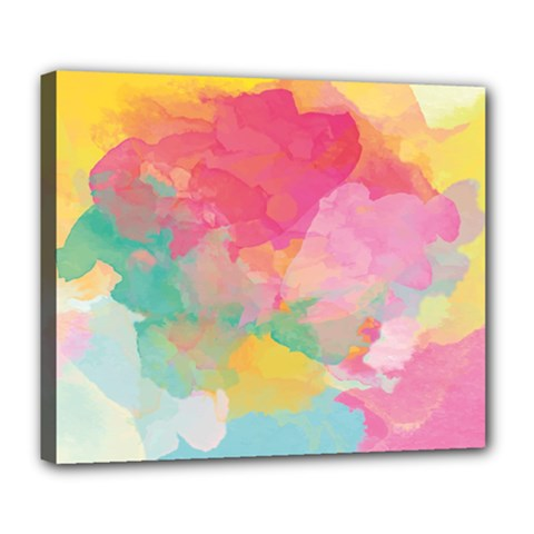 Watercolour Gradient Deluxe Canvas 24  X 20   by BangZart