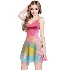 Watercolour Gradient Reversible Sleeveless Dress