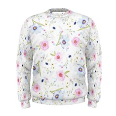 Floral Pattern Background Men s Sweatshirt