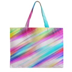 Background Course Abstract Pattern Zipper Mini Tote Bag