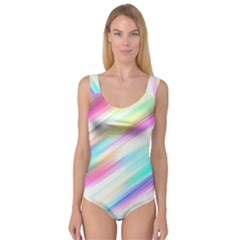 Background Course Abstract Pattern Princess Tank Leotard