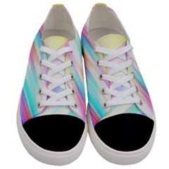 Background Course Abstract Pattern Women s Low Top Canvas Sneakers