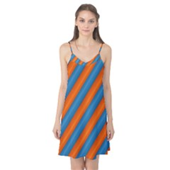 Diagonal Stripes Striped Lines Camis Nightgown