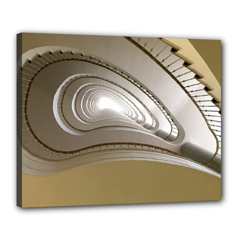 Staircase Berlin Architecture Canvas 20  X 16