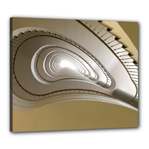 Staircase Berlin Architecture Canvas 24  X 20