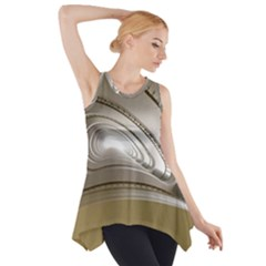 Staircase Berlin Architecture Side Drop Tank Tunic