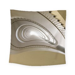 Staircase Berlin Architecture Square Tapestry (small)