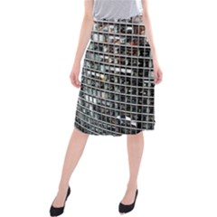 Skyscraper Glass Facade Offices Midi Beach Skirt