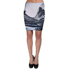 Architecture Modern Skyscraper Bodycon Skirt