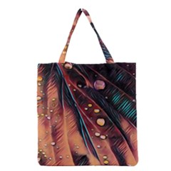 Abstract Wallpaper Images Grocery Tote Bag