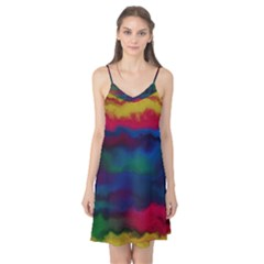 Watercolour Color Background Camis Nightgown