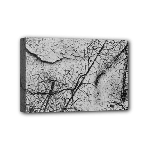 Abstract Background Texture Grey Mini Canvas 6  X 4