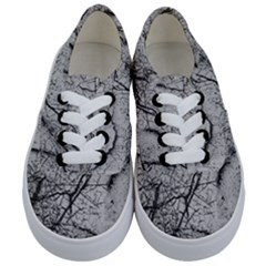 Abstract Background Texture Grey Kids  Classic Low Top Sneakers
