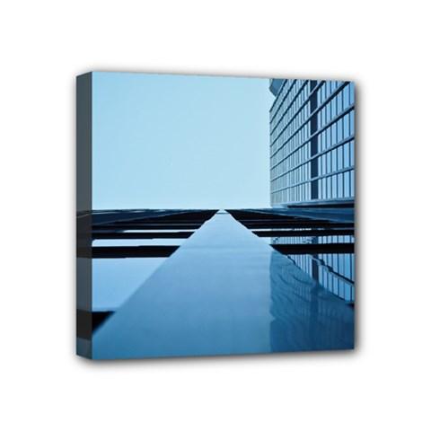 Architecture Modern Building Facade Mini Canvas 4  X 4