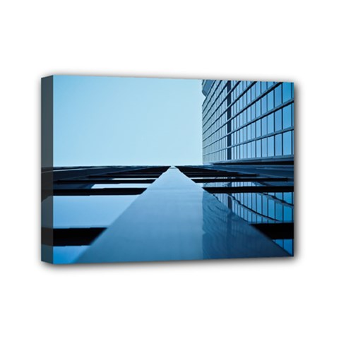 Architecture Modern Building Facade Mini Canvas 7  X 5