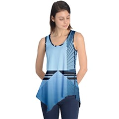 Architecture Modern Building Facade Sleeveless Tunic