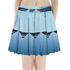 Architecture Modern Building Facade Pleated Mini Skirt by BangZart