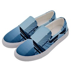 Architecture Modern Building Facade Men s Canvas Slip Ons by BangZart