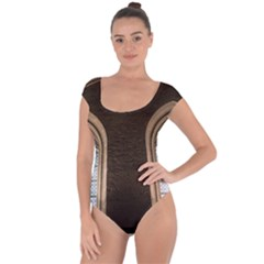 Church Window Church Short Sleeve Leotard