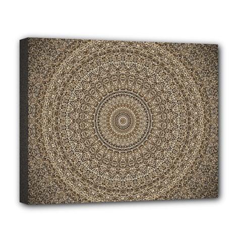 Background Mandala Deluxe Canvas 20  X 16
