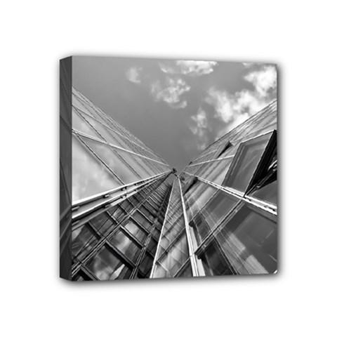 Architecture Skyscraper Mini Canvas 4  X 4