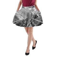 Architecture Skyscraper A Line Pocket Skirt