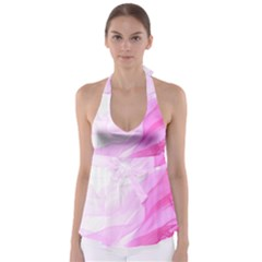Material Ink Artistic Conception Babydoll Tankini Top