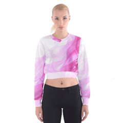 Material Ink Artistic Conception Cropped Sweatshirt