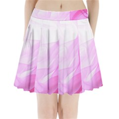 Material Ink Artistic Conception Pleated Mini Skirt