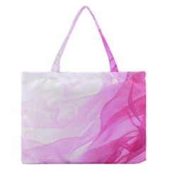 Material Ink Artistic Conception Zipper Medium Tote Bag
