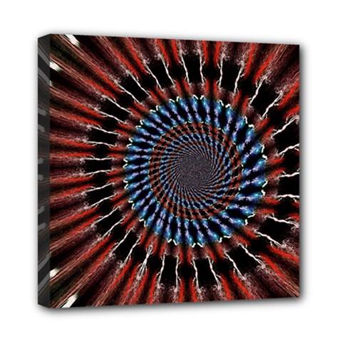 The Fourth Dimension Fractal Noise Mini Canvas 8  X 8