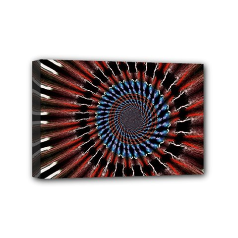 The Fourth Dimension Fractal Noise Mini Canvas 6  X 4