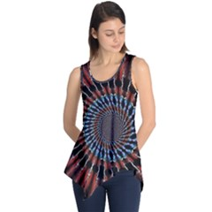 The Fourth Dimension Fractal Noise Sleeveless Tunic