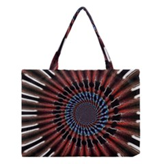 The Fourth Dimension Fractal Noise Medium Tote Bag