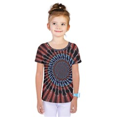 The Fourth Dimension Fractal Noise Kids  One Piece Tee