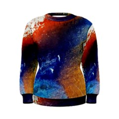 Colorful Pattern Color Course Women s Sweatshirt