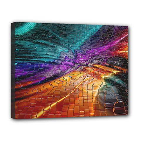 Graphics Imagination The Background Canvas 14  X 11  by BangZart