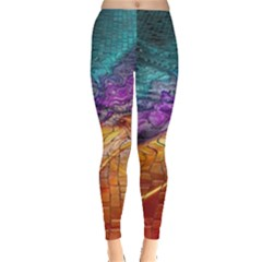 Graphics Imagination The Background Leggings  by BangZart
