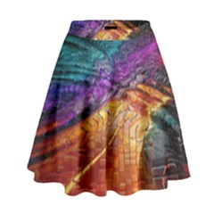 Graphics Imagination The Background High Waist Skirt by BangZart