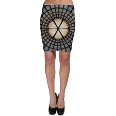 Stained Glass Colorful Glass Bodycon Skirt by BangZart