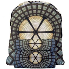 Stained Glass Colorful Glass Giant Full Print Backpack