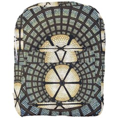 Stained Glass Colorful Glass Full Print Backpack by BangZart