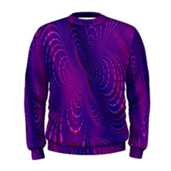 Abstract Fantastic Fractal Gradient Men s Sweatshirt