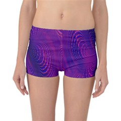 Abstract Fantastic Fractal Gradient Reversible Boyleg Bikini Bottoms